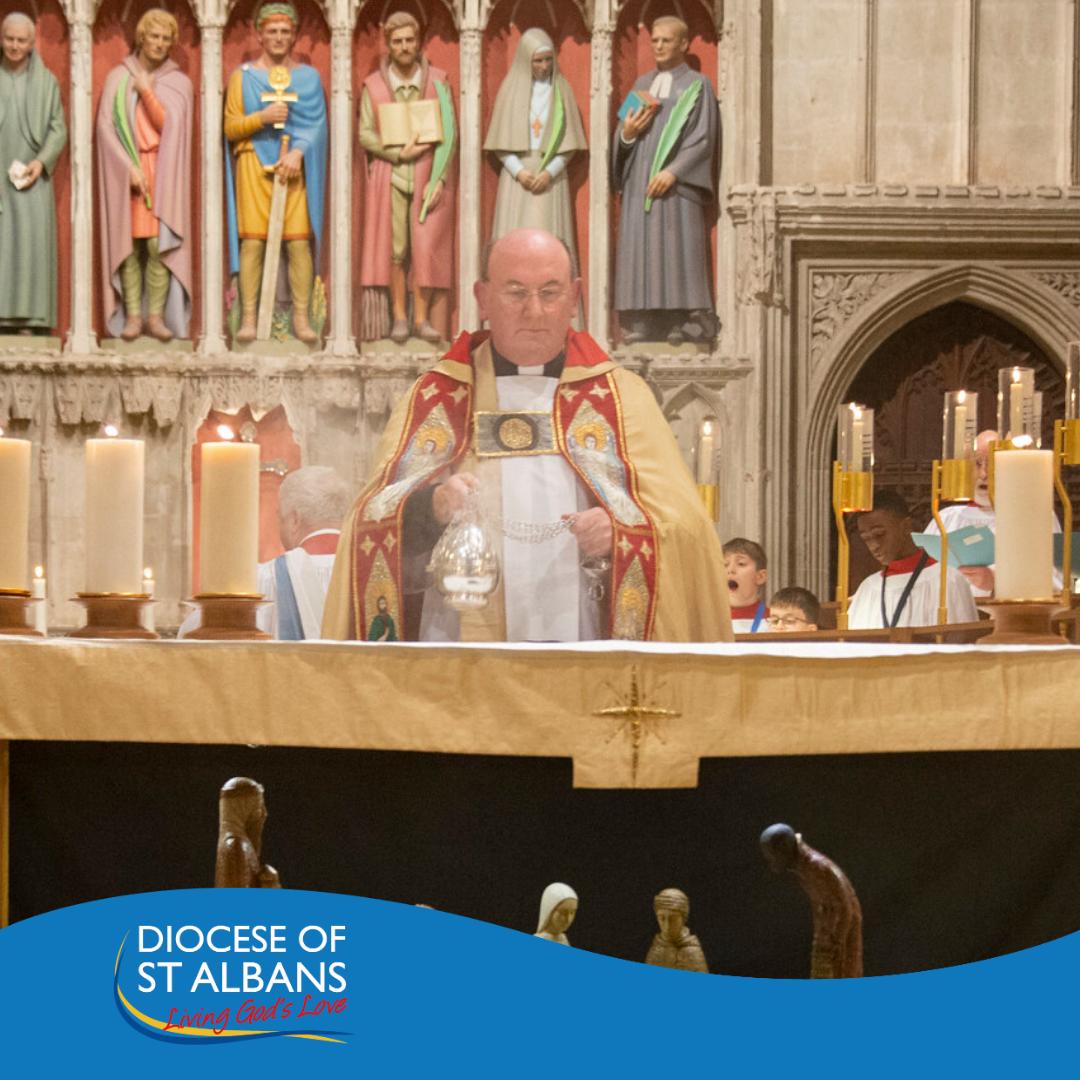 Archdeacon of St Albans at the Service of Valediction