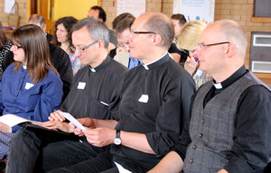 Clergy at IME Training