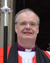 The Rt Revd Richard Atkinson, the Bishop of Bedford