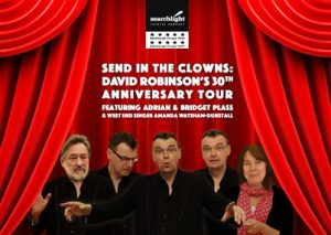 Send in the Clowns theatre performance in Redbourn with Adrian Plass and David Robinson