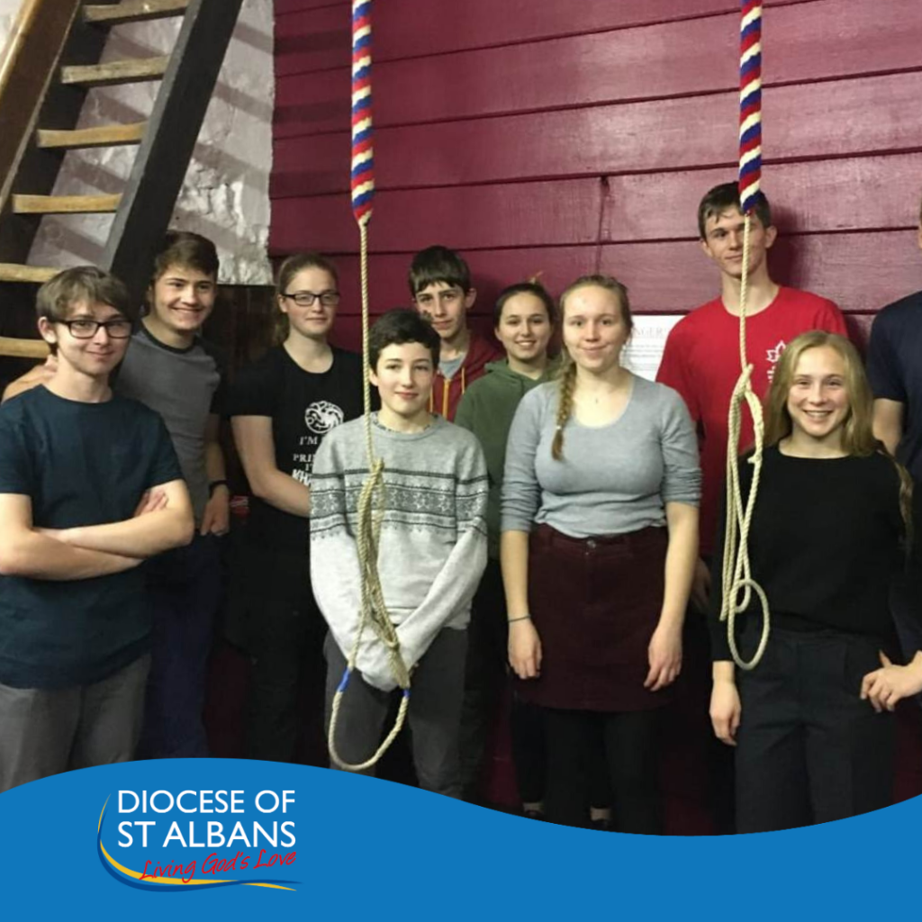 Debut for Berkhamsted's Young Bell Ringers