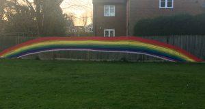 St Marys Redbourn Rainbow