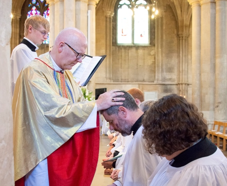 David ordained at St Albans Cathedral