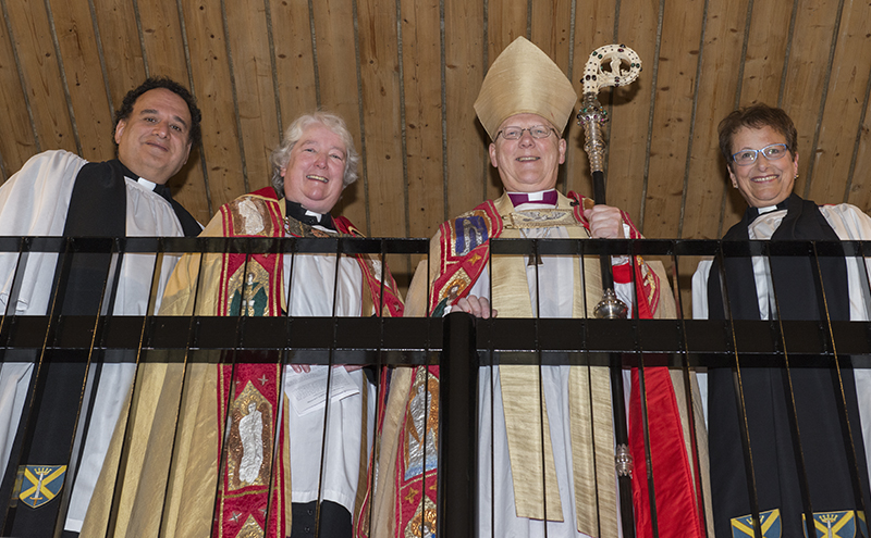 Canon Mike Pilavachi, the Ten Janet Mackenzie, The Bishop of St Albans and Canon Jane Hatton