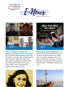 E-News screenshot
