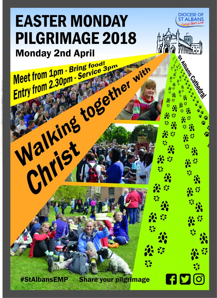 Easter Monday Pilgrimage Poster