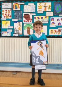 Broxbourne Primary Pupil Wins NATRE's National Art Competition