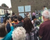 Unveiling of Mosaics in Peace Garden
