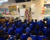 Introducing the role of a Bishop to one of our majority Muslim local schools