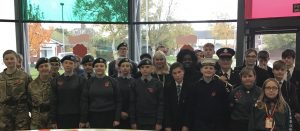 Remembrance Service at All Saint's Academy, Dunstable