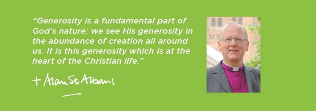 Generosity is a fundamental part of God's nature | Bishop Alan