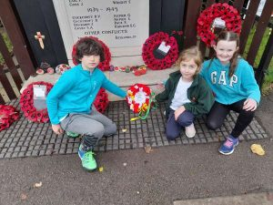 Clifton All Saints Primary Commemorate Remembrance Day