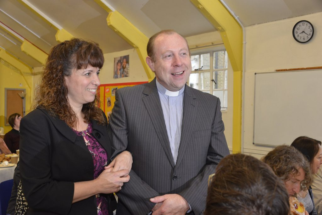 The Revd Rob and Katja O'Neill