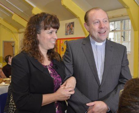 The Revd Rob and Katja O'Neill