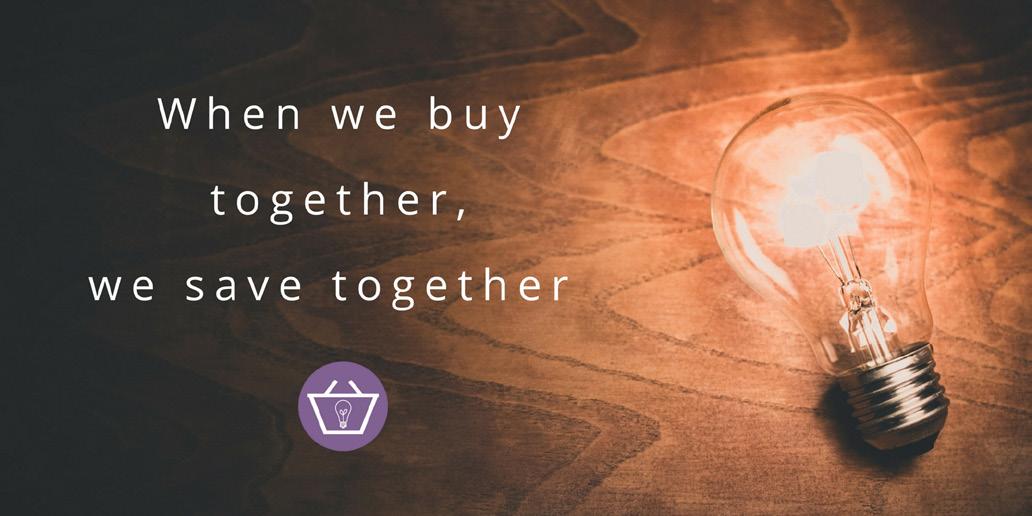 When we buy together, we save together