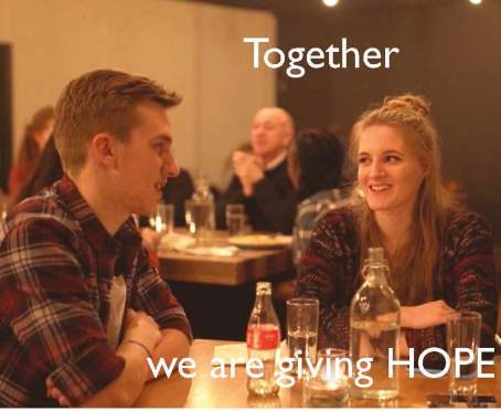 'Together we are giving HOPE'