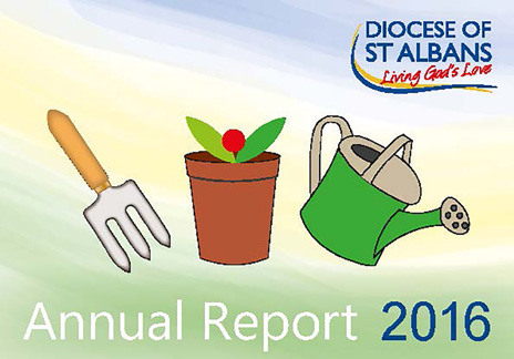 Annual Report 2016 cover | Diocese of St Albans
