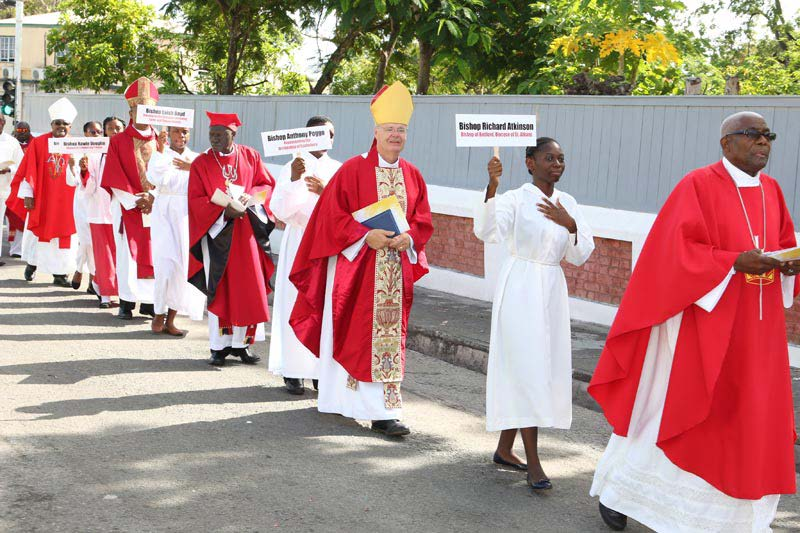 Images from Bishop Richard's visit to the NECA celebration at St John's Cathedral, Antigua 2