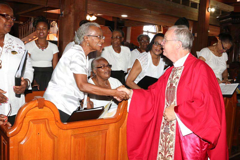Images from Bishop Richard's visit to the NECA celebration at St John's Cathedral, Antigua 1