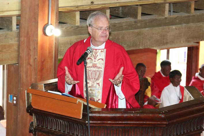 Images from Bishop Richard's visit to the NECA celebration at St John's Cathedral, Antigua 3