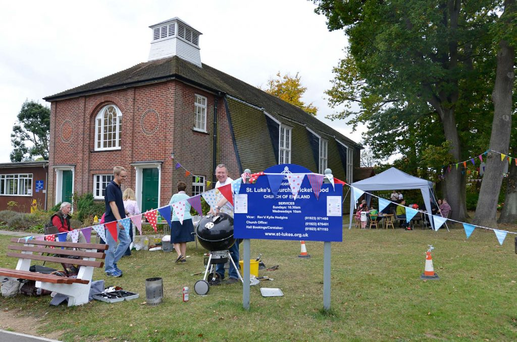 St Lukes' celebrates with a barbecue