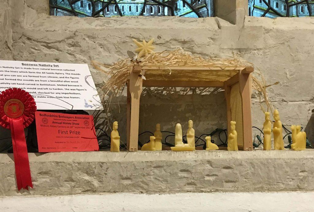 Beeswax Nativity Set