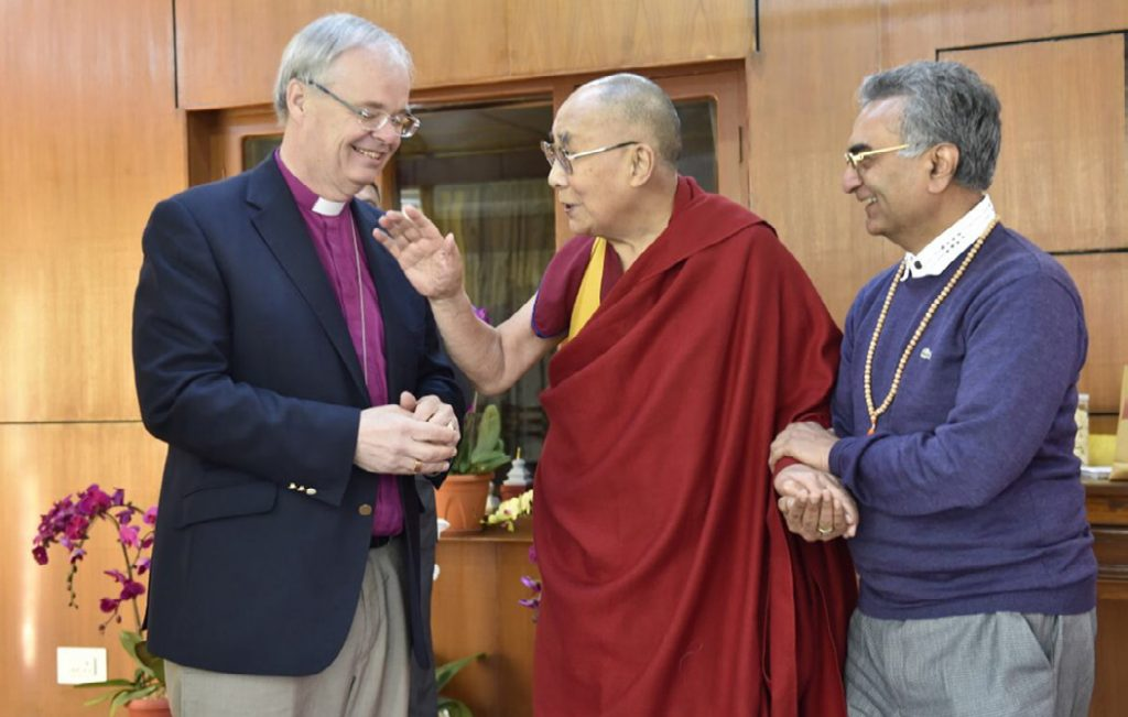 Bishop Richard with the Dalai Lama