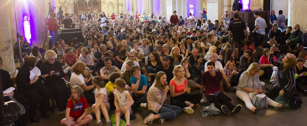 Celebration at St Albans Cathedral
