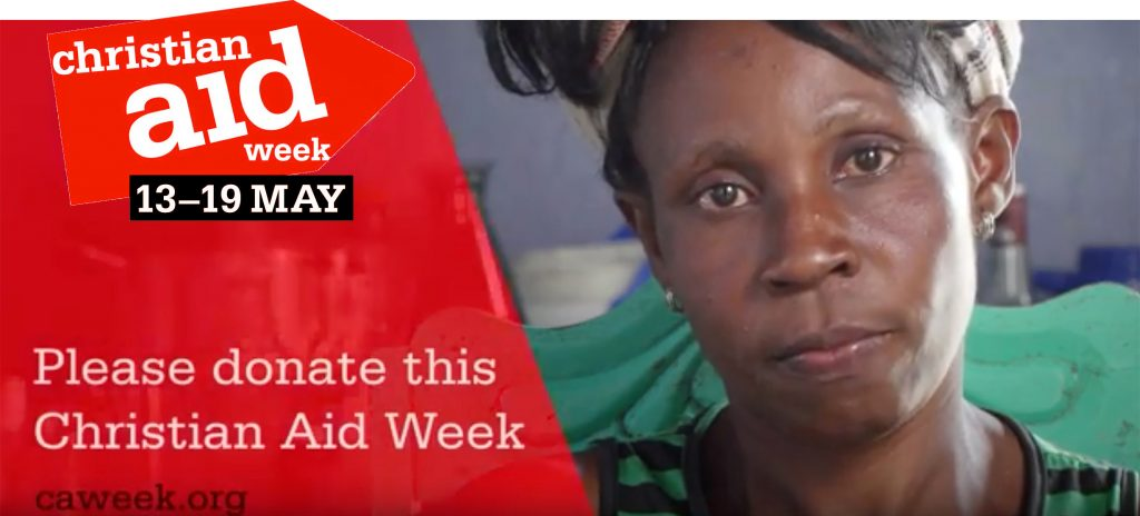 Please donate this Christian Aid Week 13-19 May