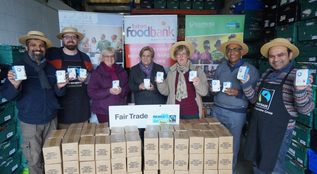 Fairtrade Sugar Supplied To Luton Foodbank Diocese Of St