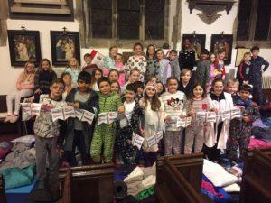 St Giles' Church Sleepover Fundraiser