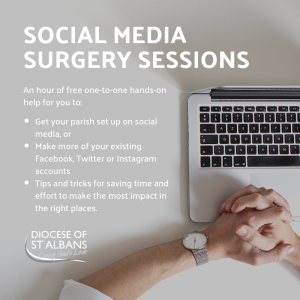 Free Social Media Surgery Sessions for Parishes