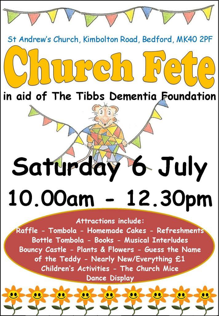 St Andrews Church Bedford - Church Fete Poster