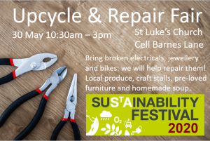 St Lukes repair Fair 2020