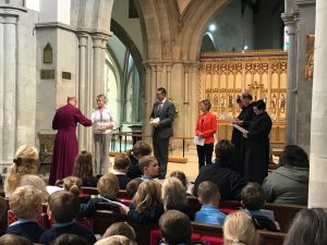 Bishop dedicates Berkhamsted schools' collaboration