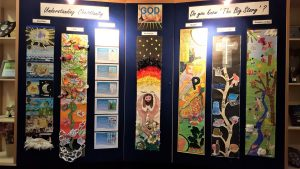 Welwyn St Mary's Create Beautiful Banners to Launch Understanding Christianity in School