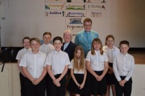 Archdeacon Janet Visits Edwinstree Middle School