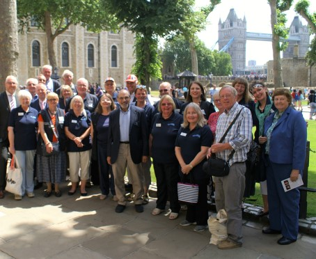 Waterways Chaplains at the Tower of London
