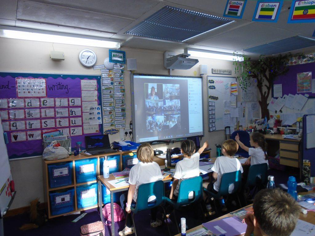 Zoom Worship at Weston Primary
