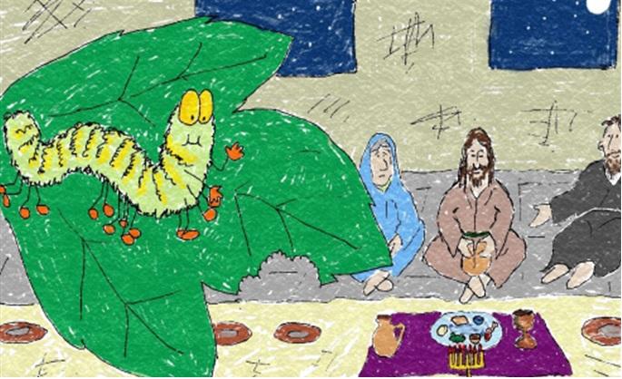 Caterpillar's Easter Journey