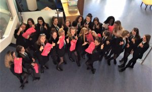 All Saints Academy, Dunstable are Pink and Proud!