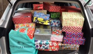Shoe Box Appeal at St Mary's, North Church