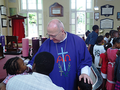 The Bishop of St Albans in the Carribbean