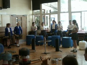 St Mary's, North Mymms Learn How to Make Music out of Rubbish