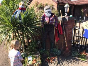 Meppershall scarecrow
