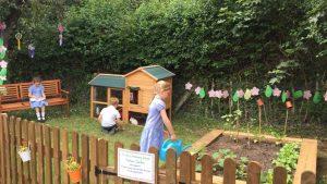St John's Primary, Lemsford, Open a Nurture Garden
