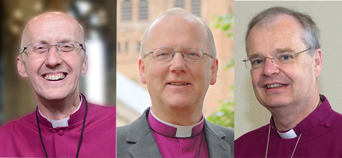 Bishops Michael, Alan and Richard