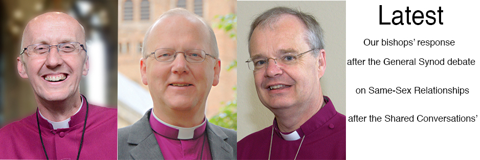 Bishop's response after General Synod sexuality debate